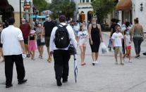 FILE PHOTO: Walt Disney World conducts a phased reopening from coronavirus disease (COVID-19) restrictions in Lake Buena Vista