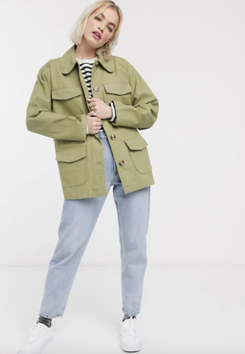 <p>This <span>ASOS Monki Waisted Utility Jacket</span> ($55, originally $79) is a failsafe choice for daily wear.</p>
