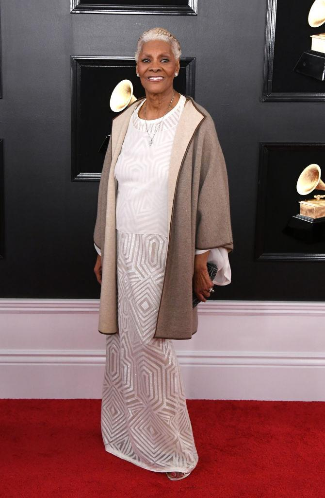 <p>Dionne Warwick attends the 61st annual Grammy Awards at Staples Center on Feb. 10, 2019, in Los Angeles. </p>