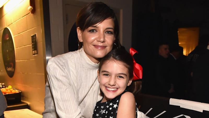 Katie Holmes Shares Rare Selfie With Daughter Suri