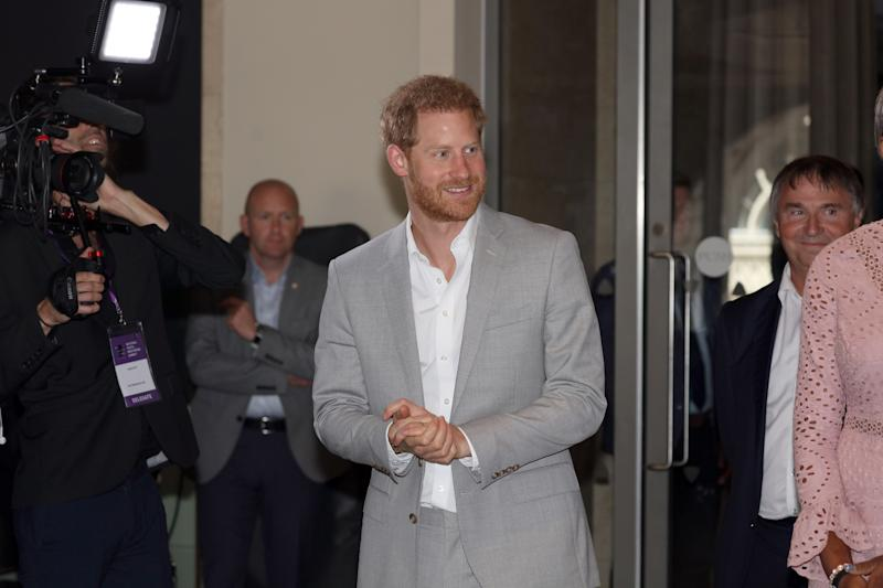 LONDON, ENGLAND - JULY 02: Prince Harry, Duke of Sussex attends The Diana Award National Youth Mentoring Summit at The Banking Hall on July 2, 2019 in London, England. (Photo by Jon Bond - WPA Pool/Getty Images)