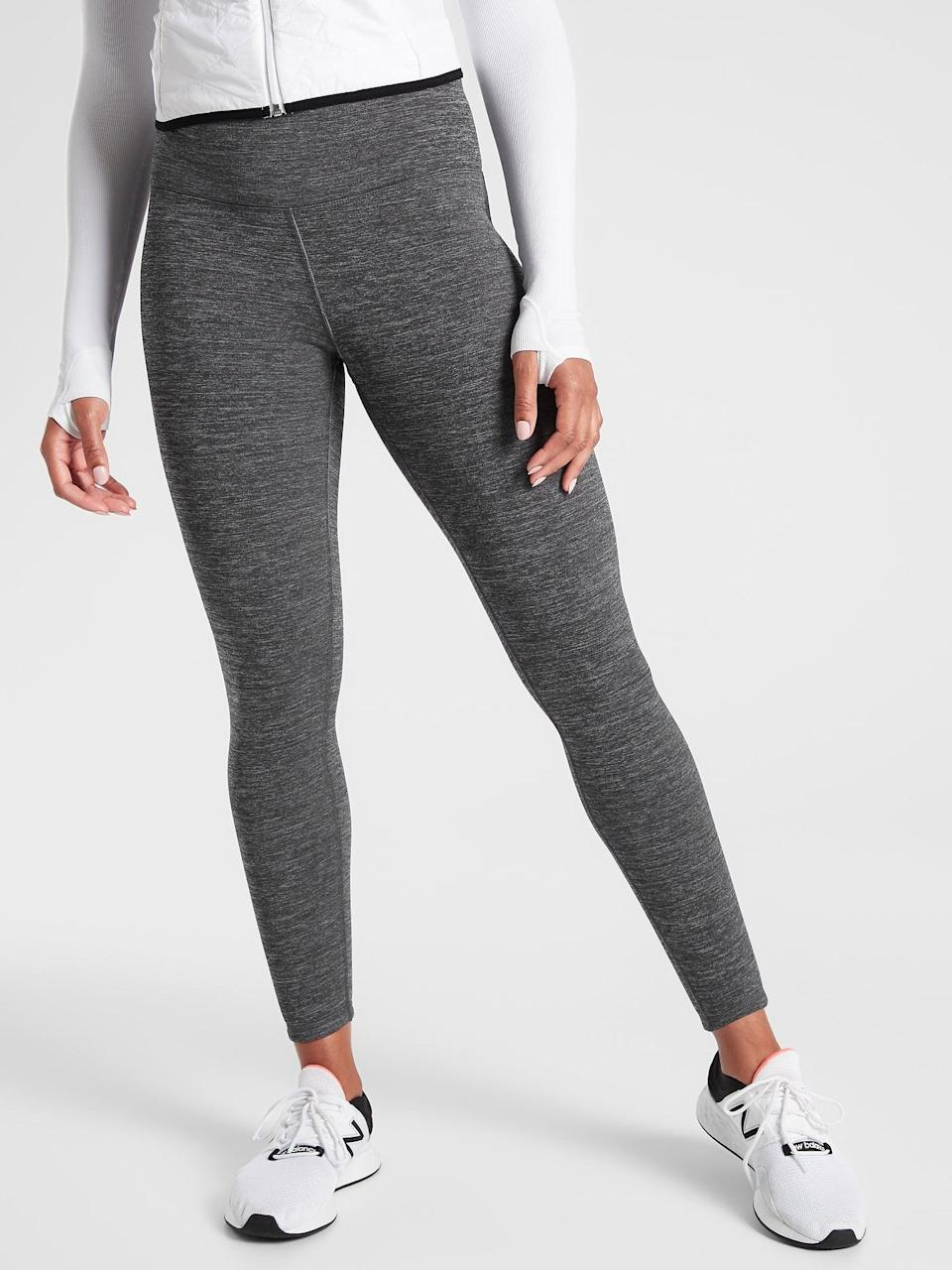 <p>Cold weather is no match for the <span>Athleta Altitude Tight</span> ($98). Since so many of us are continuing to work out outside well into the fall and winter, these are going to be an essential part of your workout wardrobe.</p>