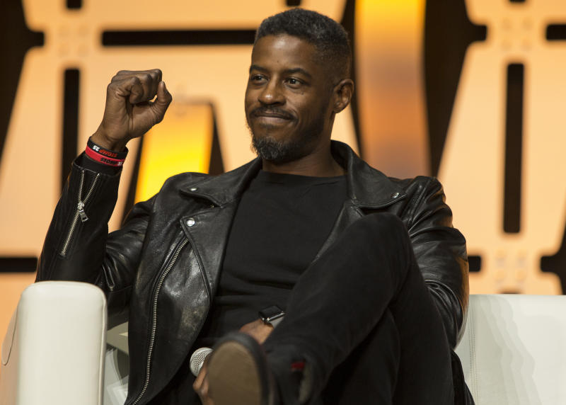 CHICAGO, IL - APRIL 15: Ahmed Best during the Star Wars Celebration at McCormick Place Convention Center on April 15, 2019 in Chicago, Illinois. (Photo by Barry Brecheisen/Getty Images)