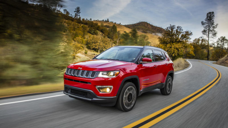 Jeep Compass, el gran mérito de completar el top ten.