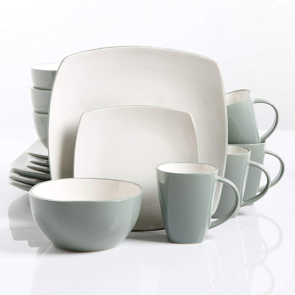 """<p>This <a href=""""https://www.popsugar.com/buy/Gibson-Home-Soho-Lounge-Square-16-Piece-Dinnerware-Set-509566?p_name=Gibson%20Home%20Soho%20Lounge%20Square%2016-Piece%20Dinnerware%20Set&retailer=amazon.com&pid=509566&price=60&evar1=casa%3Aus&evar9=46833935&evar98=https%3A%2F%2Fwww.popsugar.com%2Fphoto-gallery%2F46833935%2Fimage%2F46833938%2FGibson-Home-Soho-Lounge-Square-16-Piece-Dinnerware-Set&list1=shopping%2Camazon%2Ckitchens%2Chome%20shopping&prop13=api&pdata=1"""" rel=""""nofollow"""" data-shoppable-link=""""1"""" target=""""_blank"""" class=""""ga-track"""" data-ga-category=""""Related"""" data-ga-label=""""https://www.amazon.com/dp/B00CM9JO1I?ref=ppx_pop_mob_ap_share&amp;th=1"""" data-ga-action=""""In-Line Links"""">Gibson Home Soho Lounge Square 16-Piece Dinnerware Set</a> ($60) is great for someone who has a more minimal taste.</p>"""