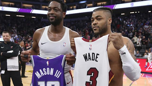 Little did Fran Mason know that swapping jerseys with Dwyane Wade would have a negative impact.