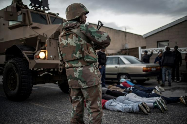 Cape Flats has become one of the most dangerous places in South Africa, underpinned by gangsterism and under-resourced policing (AFP Photo/MARCO LONGARI)