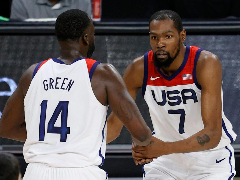 Kevin Durant of Team USA