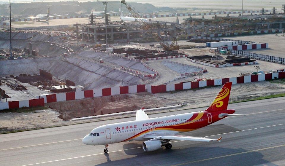 Hong Kong Airlines will be flying just eight of its jets as it attempts to weather the coronavirus pandemic. Photo: Nora Tam