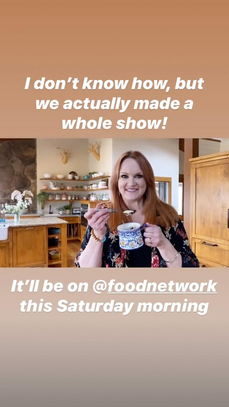 Food Network Is Airing 5 New Episodes Of The Pioneer Woman Shot By