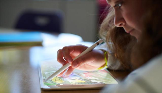 Apple's new iPad is available for all consumers, but the company is using it to make a big push into the education technology market.