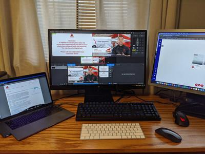 Axalta, a leading global supplier of liquid and powder coatings, today announcedit has expanded its live virtual continuous learning courses for Refinish customers globally while they follow shelter-in-place orders during the coronavirus pandemic. Each virtual class provides live, interactive instruction from Axalta's expert training team via webcast.