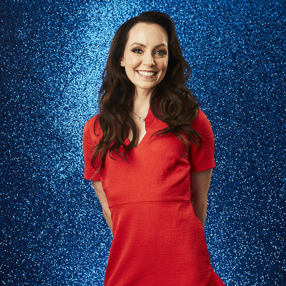 From ITV Studios  Dancing on Ice: SR14 on ITV and ITV Hub  Pictured: Stef Reid MBE.  This photograph is (C) ITV Plc and can only be reproduced for editorial purposes directly in connection with the programme or event mentioned above, or ITV plc. Once made available by ITV plc Picture Desk, this photograph can be reproduced once only up until the transmission [TX] date and no reproduction fee will be charged. Any subsequent usage may incur a fee. This photograph must not be manipulated [excluding basic cropping] in a manner which alters the visual appearance of the person photographed deemed detrimental or inappropriate by ITV plc Picture Desk.  This photograph must not be syndicated to any other company, publication or website, or permanently archived, without the express written permission of ITV Picture Desk. Full Terms and conditions are available on the website www.itv.com/presscentre/itvpictures/terms  For further information please contact: james.hilder@itv.com / 0207 157 3052