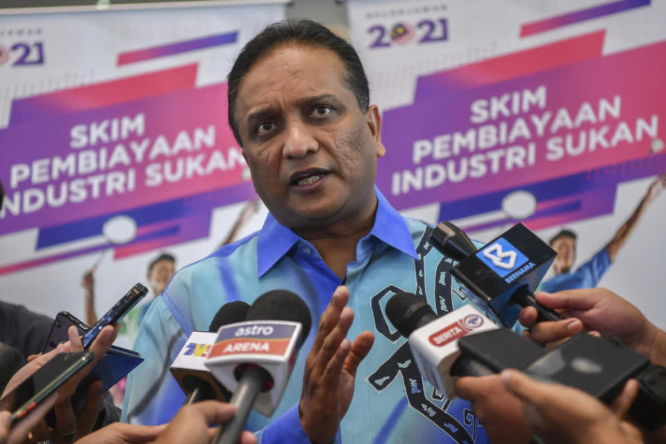 Youth and Sports Minister Datuk Seri Reezal Merican Naina Merican also affirmed denials from the Olympic games organiser of a news report purporting that Malaysia would be among 10 countries allegedly to be blocked from joining the games next month. — Bernama pic