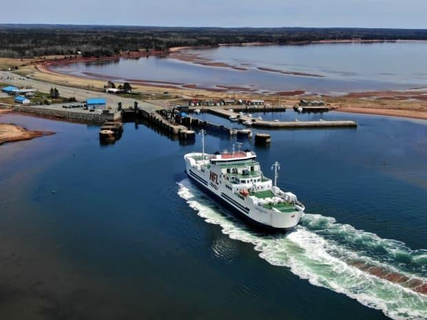 Northumberland Ferries resumed service on May 3, but for commercial large-truck traffic only.