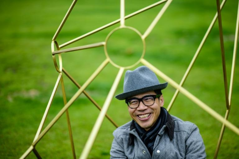 Kacey Wong is known for contemporary visual art that criticises the government