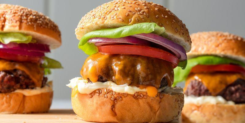 """<p>There are about a million ways to top a hamburger, and we're sure as hell not here to tell you what goes into yours. But it's our duty to make sure that you're cooking your burgers as deliciously as possible</p><p>Find the recipe from <a href=""""https://www.delish.com/uk/cooking/recipes/a28924339/best-burger-recipe/"""" rel=""""nofollow noopener"""" target=""""_blank"""" data-ylk=""""slk:Delish."""" class=""""link rapid-noclick-resp"""">Delish.</a></p>"""