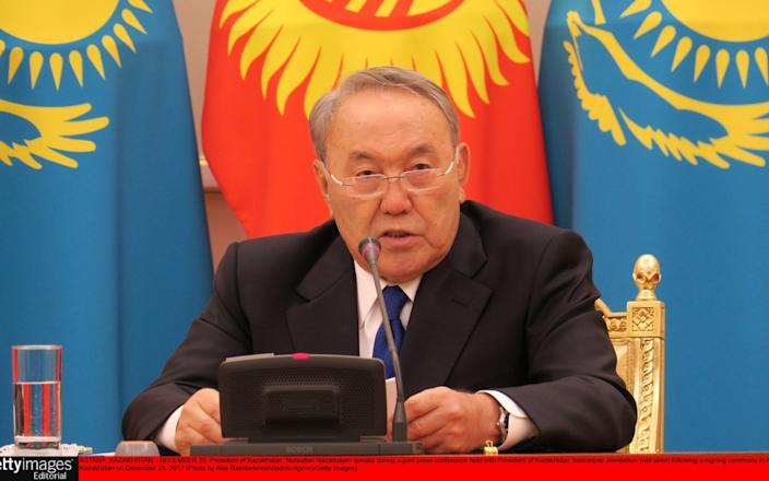 The version of a new Latin alphabet backed by president Nursultan Nazarbayev has annoyed Kazakhs with its apostrophes - Anadolu