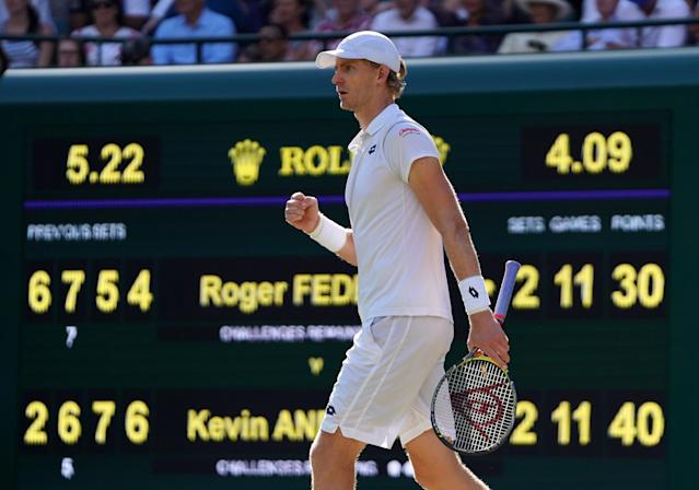 On the brink of the biggest win of his career, Kevin Anderson prepares for match point