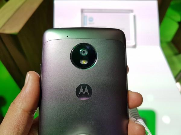 Moto G5 metallic body,
