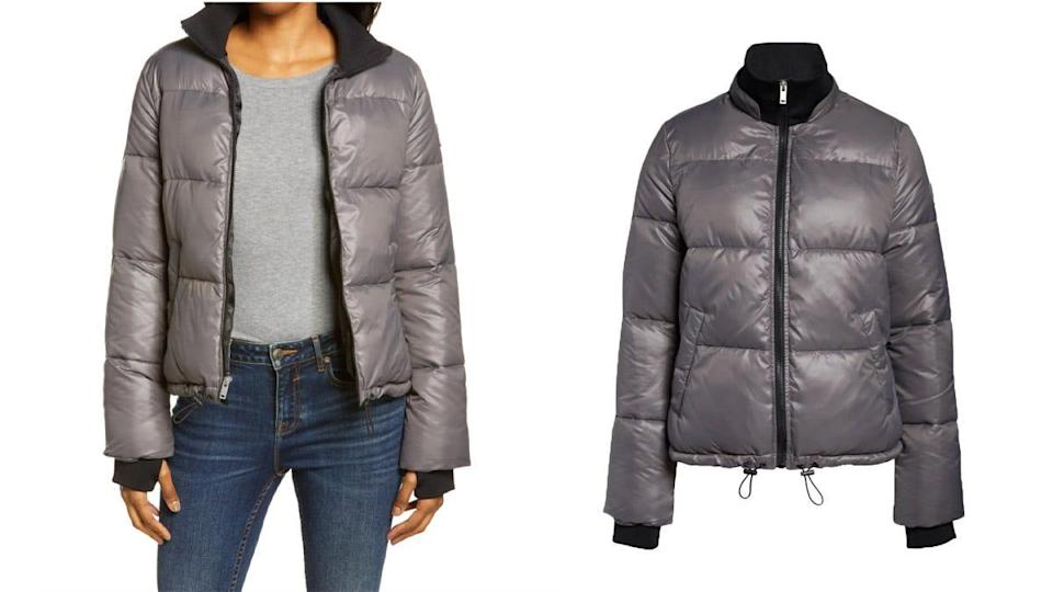 Happy buyers said this puffer is as warm and cozy as it is stylish.