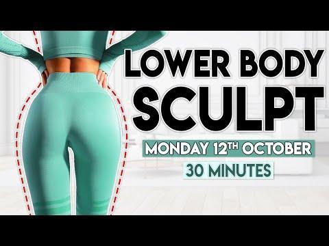 """<p>With over 1 million subscribers, we're in no doubt Lily's workouts are incredibly popular. This leg workout will work your quads, glutes and hamstrings for max sculpting. </p><ul><li><strong>How long? </strong>30 minutes</li><li><strong>Equipment: </strong>Chair, resistance band, dumbbells</li></ul><p><a href=""""https://www.youtube.com/watch?v=9-25LSqhSTY&ab_channel=LillySabri"""" rel=""""nofollow noopener"""" target=""""_blank"""" data-ylk=""""slk:See the original post on Youtube"""" class=""""link rapid-noclick-resp"""">See the original post on Youtube</a></p>"""