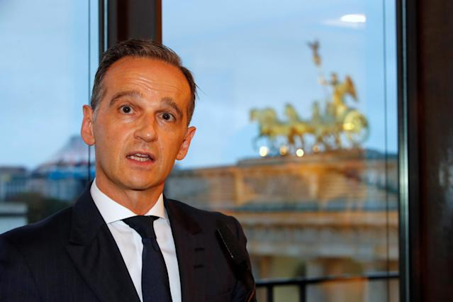 German foreign minister Heiko Maas: 'We are very worried that instability in Iraq will surely increase without the international community's engagement against ISIS.' Photo: Hannibal Hanschke/Reuters