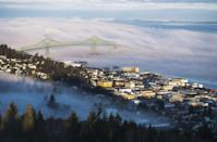 """<p><a href=""""https://go.redirectingat.com?id=74968X1596630&url=https%3A%2F%2Fwww.tripadvisor.com%2FTourism-g60806-Astoria_Oregon-Vacations.html&sref=https%3A%2F%2Fwww.thepioneerwoman.com%2Fjust-for-fun%2Fg34836106%2Fsmall-american-town-destinations%2F"""" rel=""""nofollow noopener"""" target=""""_blank"""" data-ylk=""""slk:Astoria is actually the oldest settlement"""" class=""""link rapid-noclick-resp"""">Astoria is actually the oldest settlement</a> west of the Rocky Mountains, so if you love history, you'll love exploring this interesting town and its many museums, like the Columbia River Maritime Museum. </p>"""
