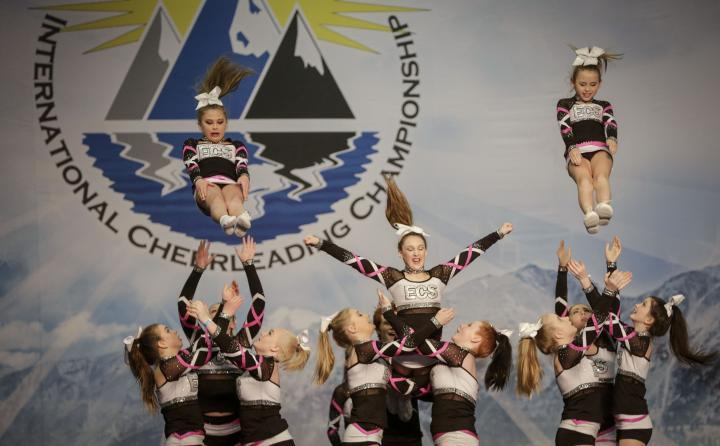 Cheerleading Championship a Vancouver