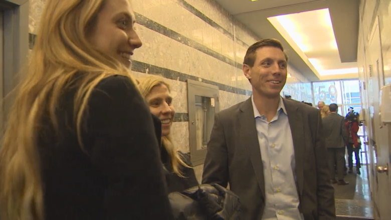 Patrick Brown has entered Ontario's PC leadership race. Photo from CBC.