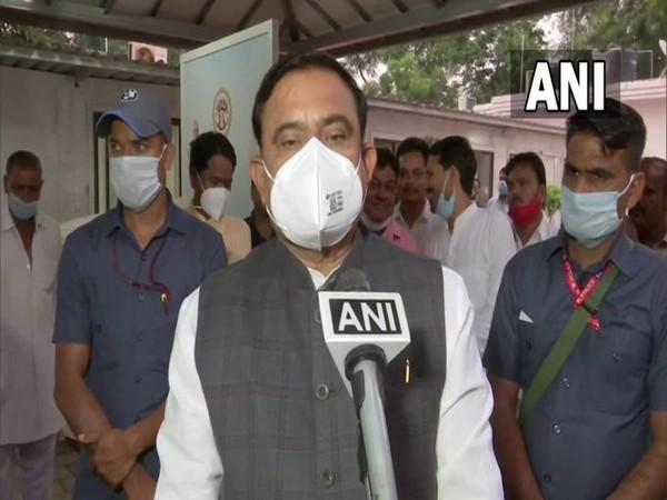Madhya Pradesh Minister Bhuppendra Siingh speaking to ANI in Bhopal on Thursday. [Photo/ANI]