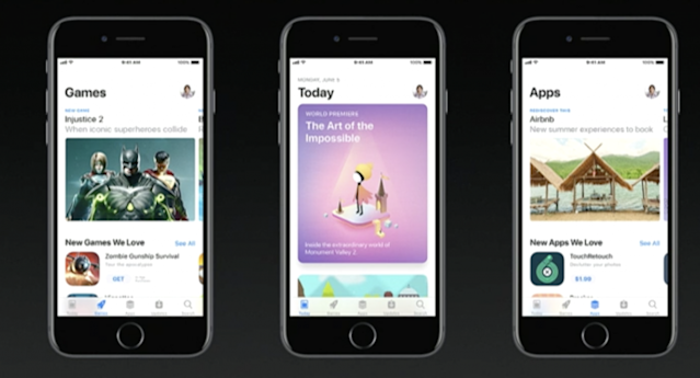 After nine years, the App Store gets a new look.
