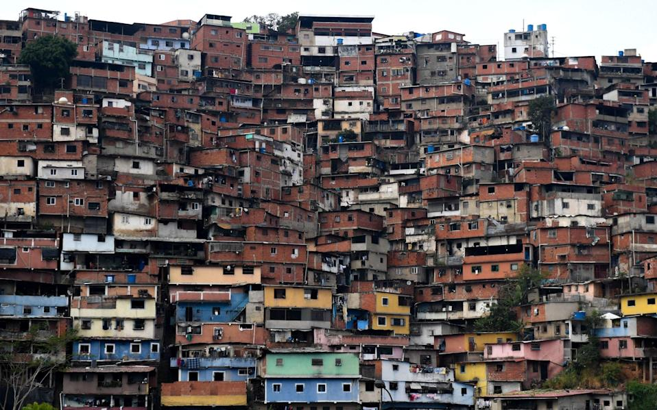 Petare neighbourhood in eastern Caracas - FEDERICO PARRA /AFP
