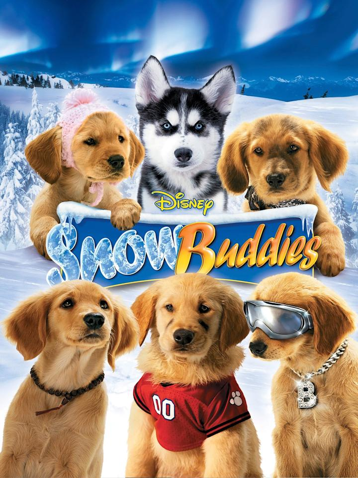 "<p><strong>Netflix description:</strong> ""In this family-friendly tale, a feisty pack of golden retriever puppies embarks on an Alaskan adventure, braving snow, ice and danger along the way.""</p> <p><strong>Ages it's appropriate for:</strong> 5 and up</p> <p><strong>Watch it here:</strong> <a href=""https://www.netflix.com/title/70084487"" target=""_blank"" class=""ga-track"" data-ga-category=""Related"" data-ga-label=""https://www.netflix.com/title/70084487"" data-ga-action=""In-Line Links""><strong>Snow Buddies</strong></a></p>"