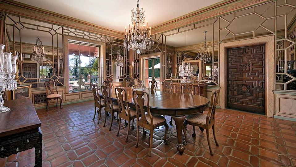 The dining room - Credit: Photo: Jim Bartsch