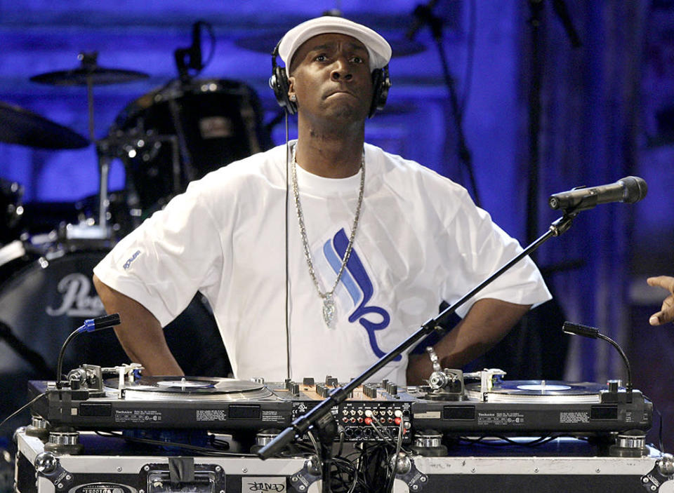 We didn't necessarily expect to be saying that Grandmaster Flash had something new to promote in 2017, but he does: The second season of Baz Luhrmann's Netflix series <em>The Get Down</em>, on which he serves as an executive producer, remixer, and recurring character, will be releasing a new batch of episodes this month. Don't push him, 'cause he's close to the edge … of renewed relevance to a new South By generation! (Photo: AP Photo/Seth Wenig)