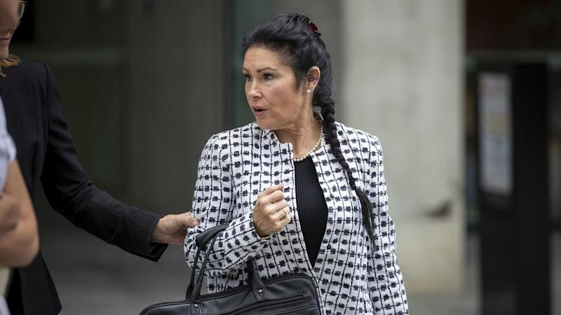 Elisabeth Mary Coman is on trial before a judge alone for the manslaughter of her partner