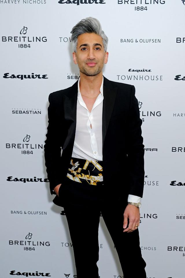 <p>Tan is best-known for being the fashion guru on Queer Eye.</p>