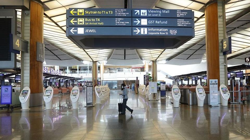 "Singapore's Changi Airport has warned of a ""daunting period"" ahead."