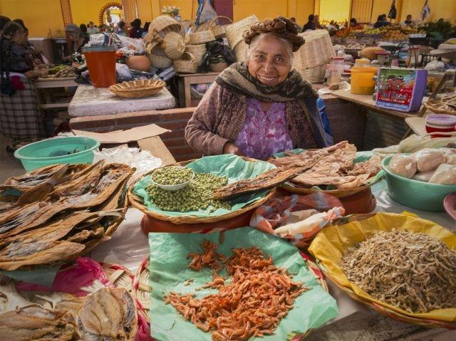 The food in Oaxaca, Mexico is rated a must for gourmet travelers
