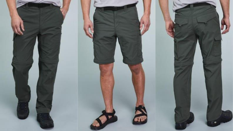 Overheating? Just zip off the bottom of these Columbia pants.