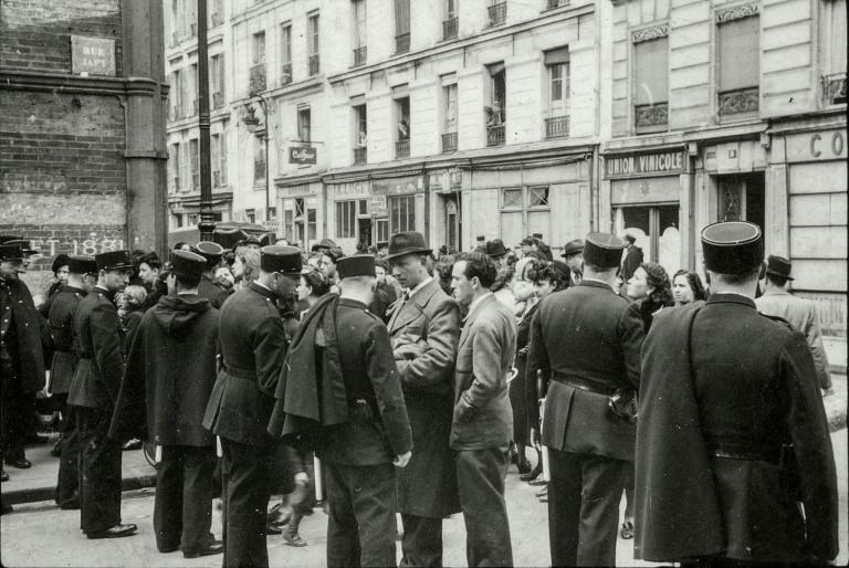 The photos, taken by a German soldier on propaganda duty, were discovered by chance by the Holocaust Museum of Paris