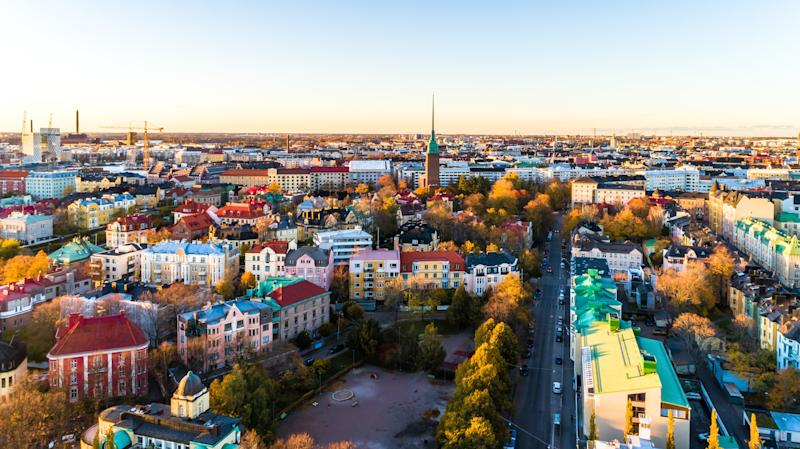 Helsinki, where Tuomas is based. Participants for the UBI trial were selected from across the country. (Subodh Agnihotri via Getty Images)
