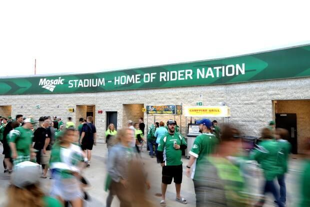 Premier Scott Moe says he hopes to see fans gradually return to Mosaic Stadium in August, in time for the Canadian Football League to start the proposed season it wants. (Bryan Eneas/CBC - image credit)
