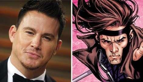 Channing Tatum and fan-favourite Gambit