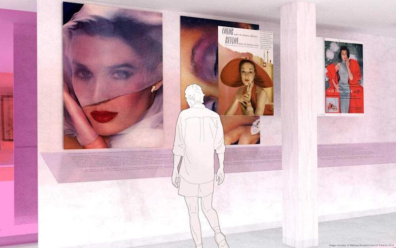 Image result for make up museum new york