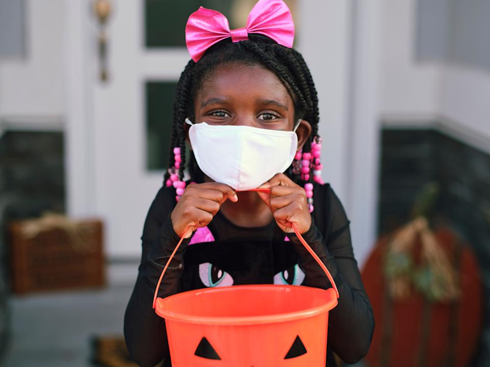 Families share some of their creative ideas for celebrating Halloween 2020. (Photo: RichLegg via Getty Images)