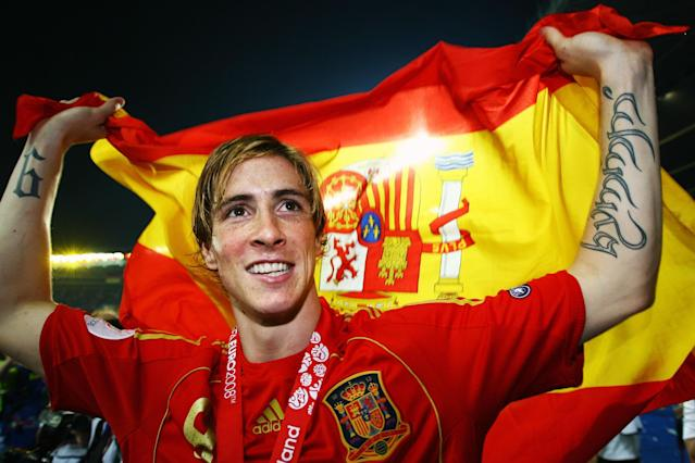 """""""I would give anything to score a goal in the final,"""" Fernando Torres said on the eve of the Euro 2008 showpiece against Germany in Vienna. The following day, he not only did score, but his goal proved the catalyst for an era of dominance for La Roja.There were 32 minutes and 20 seconds on the clock.Xavi slid a low ball forward for Torres to chase.The striker's first touch was not the best, but he beat Philipp Lahm for pace, racing around the full-back before chipping a delicate finish over the advancing Jens Lehmann and into the corner from just inside the box.Torres ran to the corner flag, thumb in mouth, to be met by his jubilant team-mates.> ️⚽️🙌🏆 Un gol que cambió para siempre la historia del fútbol español y de la @SeFutbol. > > ¡Te echaremos de menos, Fernando @Torres! pic.twitter.com/8GkzpgonQz> > — UEFA.com en español (@UEFAcom_es) > > June 21, 2019Andres Iniesta arrived first, then Cesc Fabregas, Sergio Ramos, Joan Capdevila, Xavi, Carles Puyol and Marcos Senna. In the crowd, thousands of Spain supporters celebrated wildly. Even the king and queen were on their feet.On its way inside the far post, the ball had bounced twice on the long grass and taken what seemed an age to hit the net.""""The ball slid off the turf and the explosion of joy was incredible,"""" Torres said later.""""The minutes were never-ending after that, anything could happen until the end of the match, but when the referee blew the whistle, all that tension turned to an immense feeling of satisfaction and pride.""""That Spanish side went on to dominate international football for the next four years, winning a World Cup in 2010 and another European Championship in 2012. And although that team will always be associated with the passing and possession football of Xavi and Iniesta, it was Torres' goal which sealed the all-important first piece of silverware.> 🏆 Campeón de Europa Sub-16 (2001) > 🏆 Campeón de Europa Sub-19 (2002) > 🏆 Campeón de Europa (2008) > 🏆 Campeón del Mundo (2010) > 🏆 Campeón de Eur"""