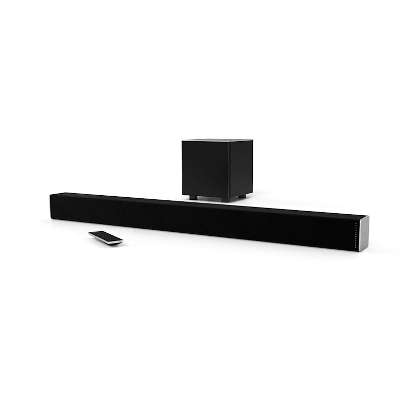 This soundbar also supports streaming from your smartphone. (Photo: Walmart)