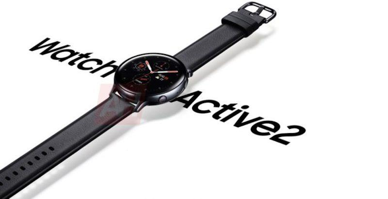 The Samsung Galaxy Watch Active 2 retains the same round display that has no rotating bezels.— Android Headlines pic via SoyaCincau